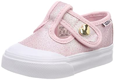 c2f9023755 Vans Toddler Leena Canvas Iridescent Pink Size 10