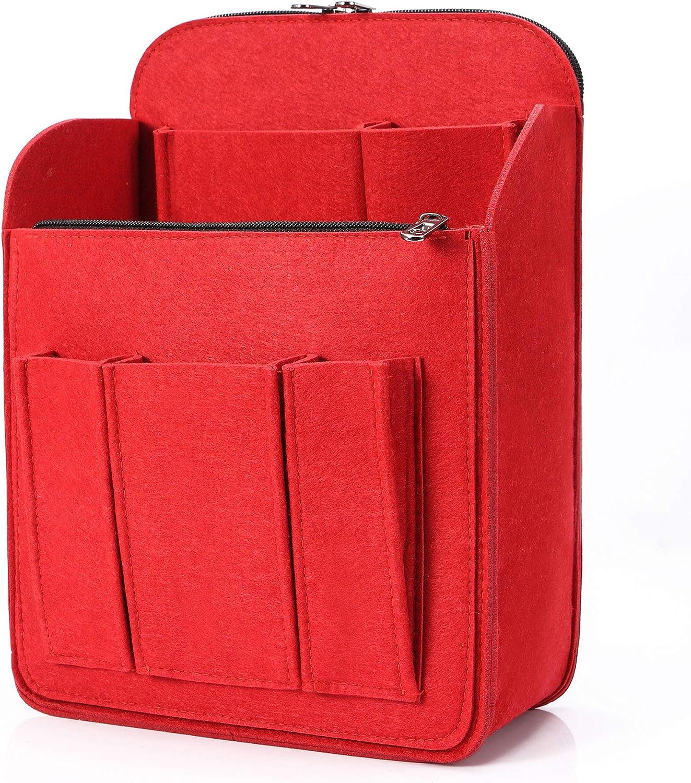 Felt Backpack Organizer Insert for Women and Men Large Travel Rucksack Insert Bag Organizer