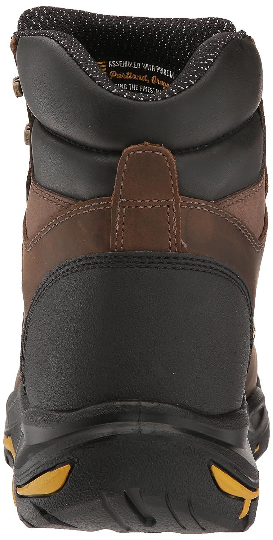 Zapato industrial y de construcci¨®n MT.Vernon Met para caballero, Cascade Brown, 8.5 D US