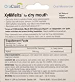Xylimelts for Dry Mouth, Size 40ct Mild Mint