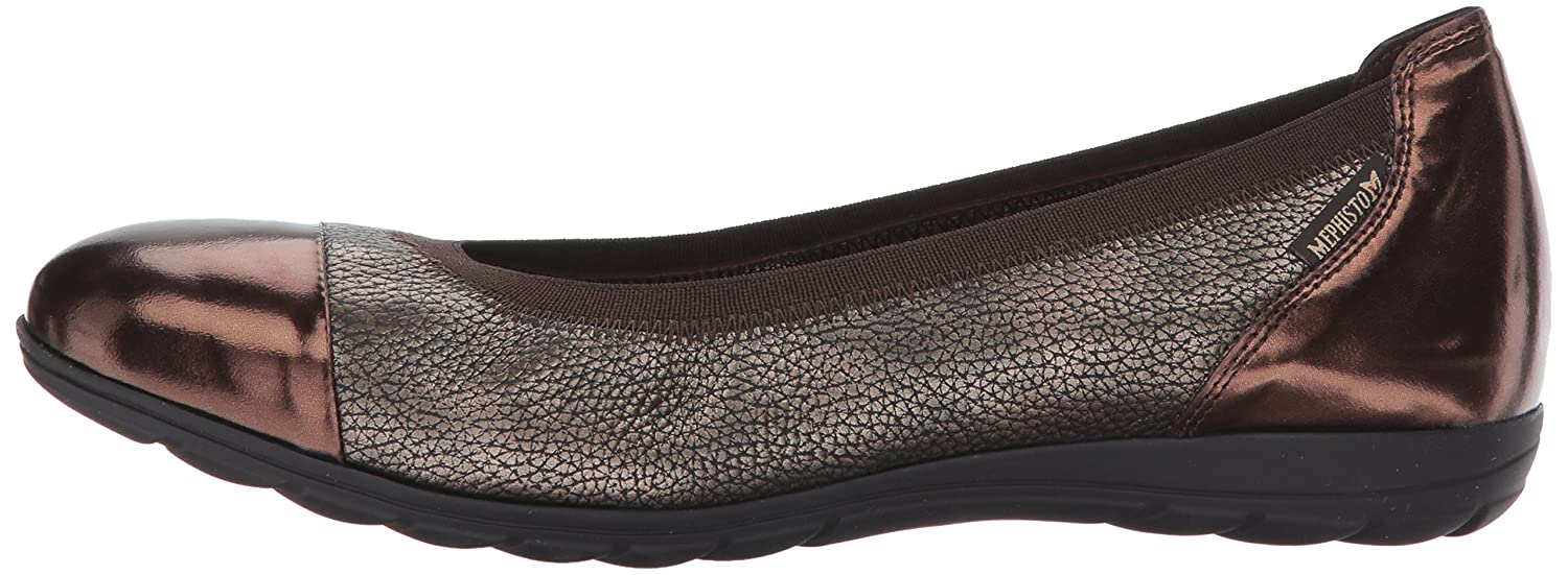 Mephisto B(M) Women's Elettra Ballet Flat B06XCPMZ1B 9.5 B(M) Mephisto US|Dark Brown Magic/Copper Ceylan f71e93