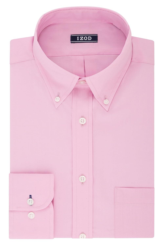Izod Mens Regular Fit Stretch Solid Buttondown Collar Dress Shirt Izod Dress Shirts 2301530
