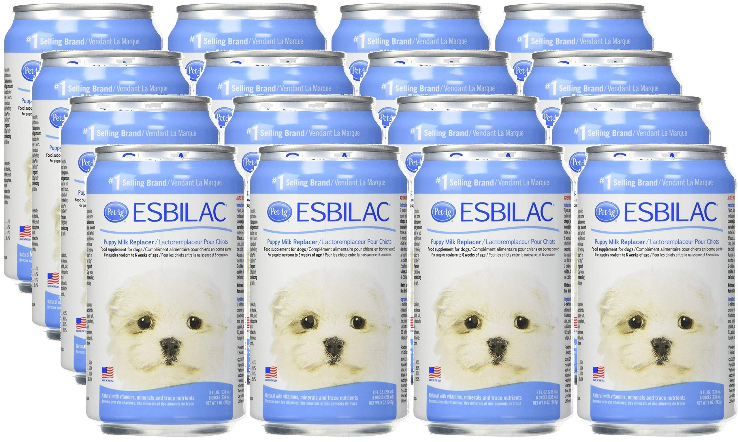 Pet Ag Esbilac Liquid Puppy Milk Replacer (12 Pack - 8 Ounces) by Pet Ag
