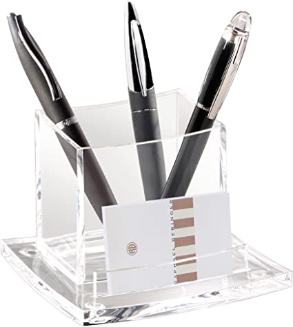 CEP 340180 - Portalápices, transparente: Amazon.es: Oficina y papelería
