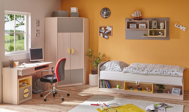 5-tlg. Schlafzimmer-Set Primus, 90 x 200 cm jetzt kaufen