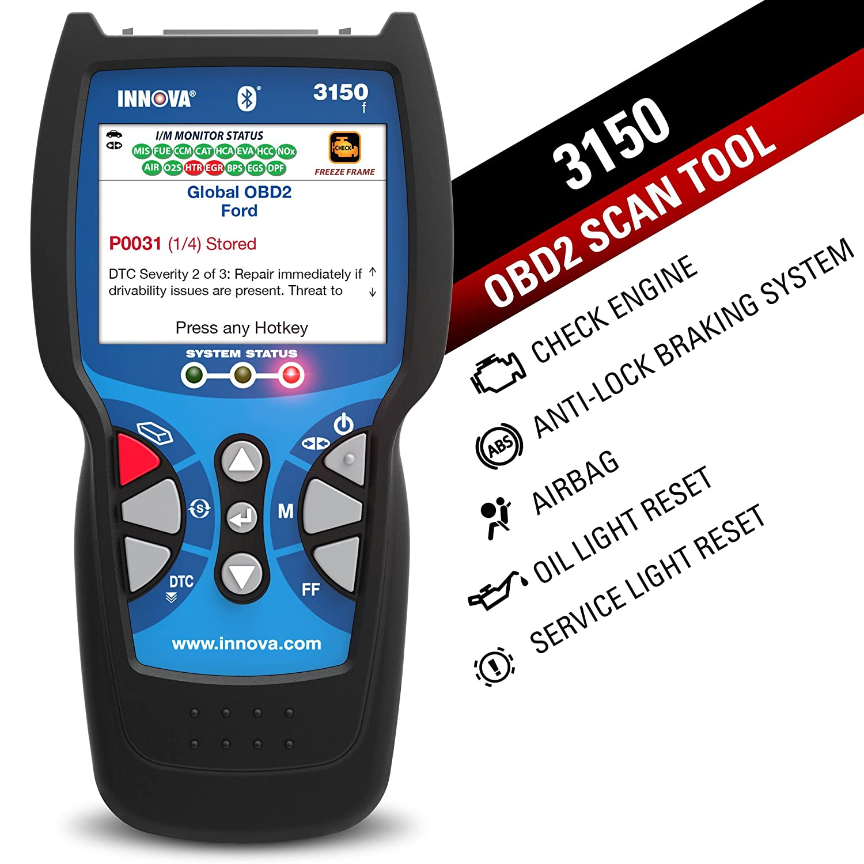 amazon com innova 3150f bluetooth check engine code reader scan rh amazon com Innova 3100 OBD2 Manual Innova Code Reader
