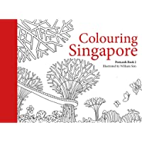 Colouring Singapore Postcards: Book 2
