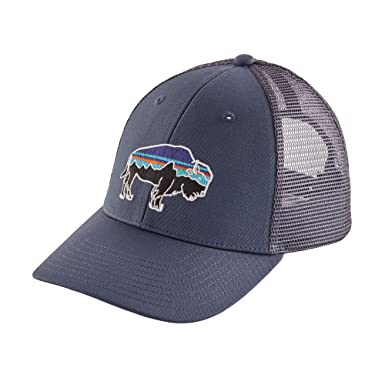 a405ab13 Patagonia Mens Fitz Roy Bison Trucker Hat (Dolomite Blue) at Amazon Men's  Clothing store: