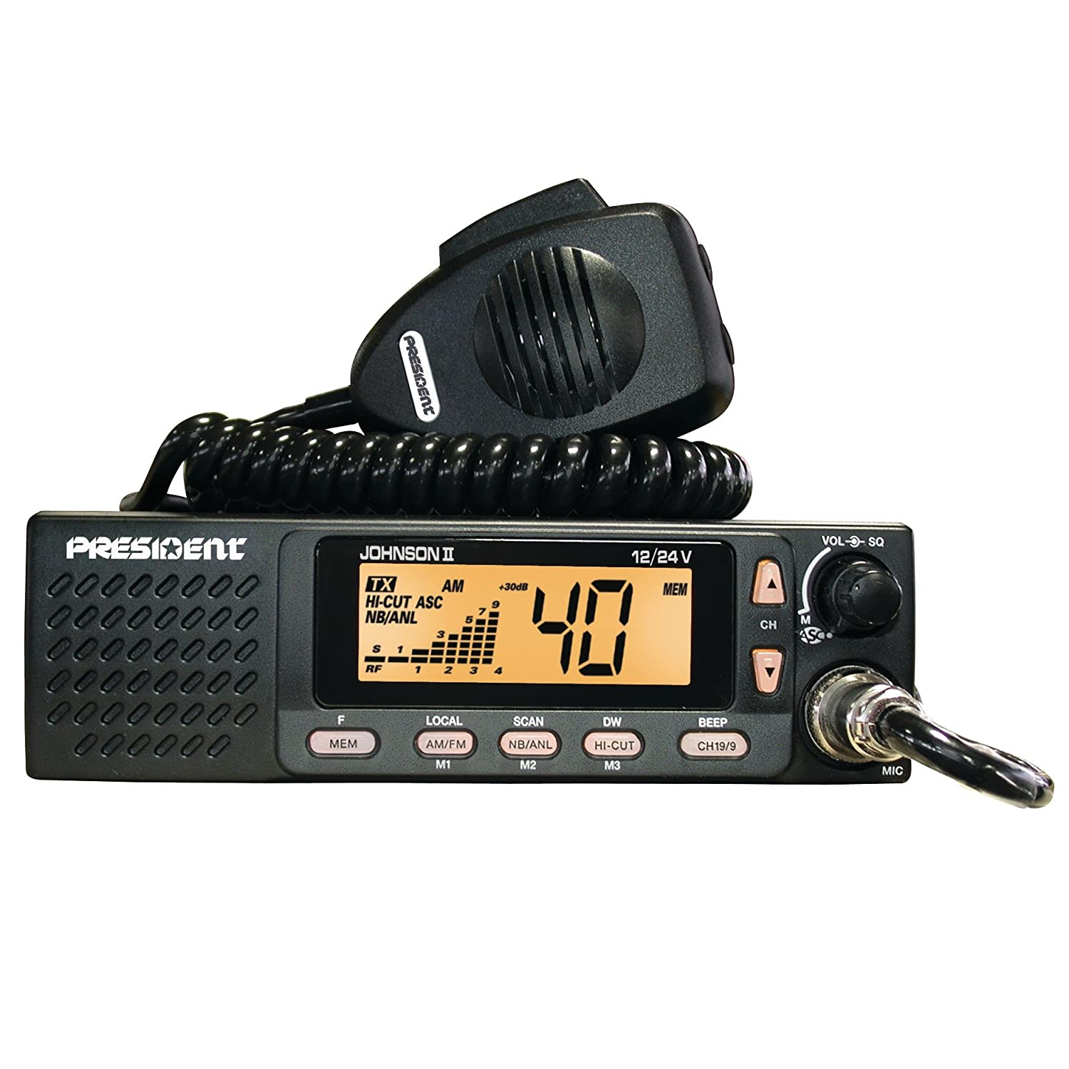 President Johnson II 12/24 CB Radio