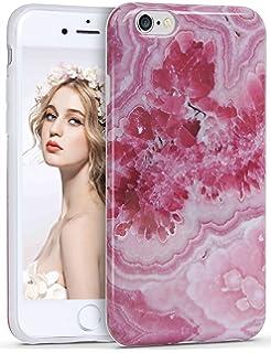 c22f9d7c14 Imikoko iPhone 6 6s Plus ケース iPhoneケース 大理石 マーブルストーン ソフトtpu アイホン6 6s