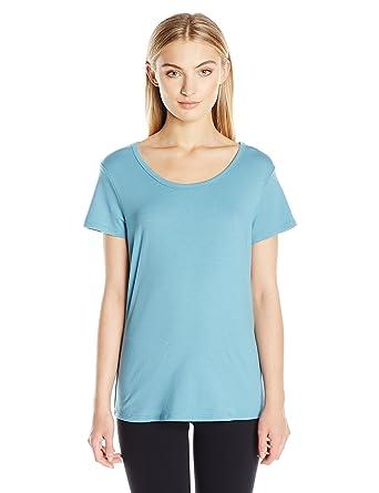 7ee4865ef5e7c Danskin Women s Essential Short Sleeve Tee at Amazon Women s ...