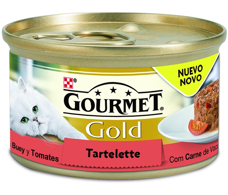 Gourmet - Gold Alimento para gatos Tartalette con Pollo y Zanahoria, 85 g: Amazon.es: Productos para mascotas