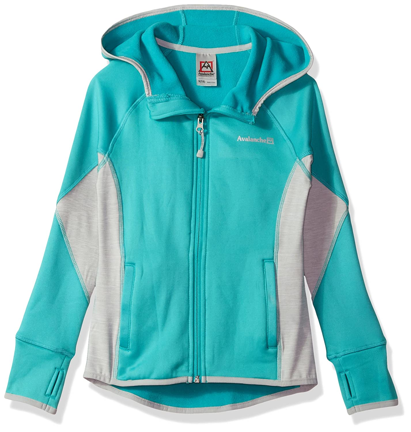 Avalanche Girls' Full Zip Hooded Jacket