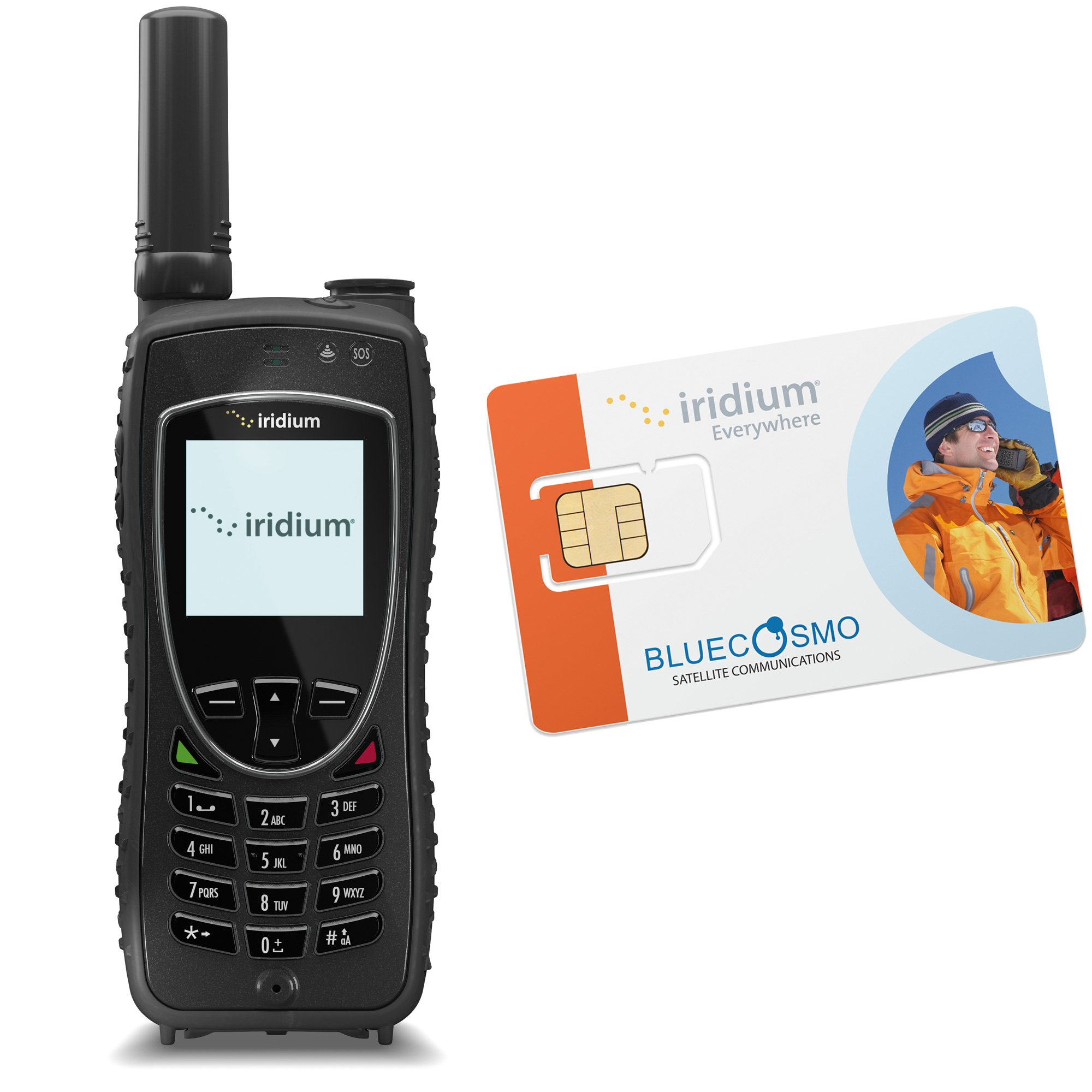 BlueCosmo Iridium Extreme Satellite Phone Kit & Monthly Service Plan SIM by BlueCosmo