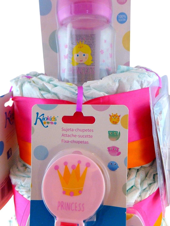 Tarta De Pañales Princesa: Amazon.es: Bebé