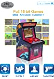 IWAWA Mini Retro Arcade Cabinet with 240 Video Games for Kids Travel Portable Handheld Gaming System Console Machine