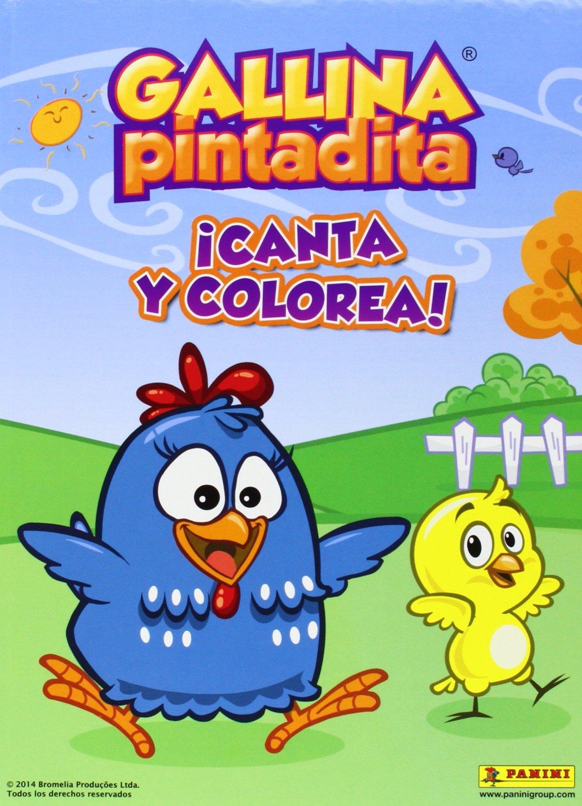 Gallina Pintadita ¡Canta Y Colorea! (PINTA Y COLOREA): Amazon.es ...
