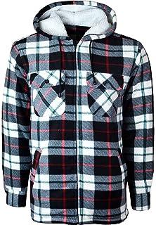 CHAMPION Da Uomo Totnes Foderato in Pile Lumberjack Camicia Di Stile
