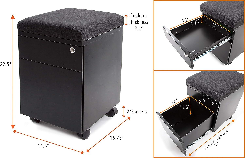 Vert mobile filing cabinet