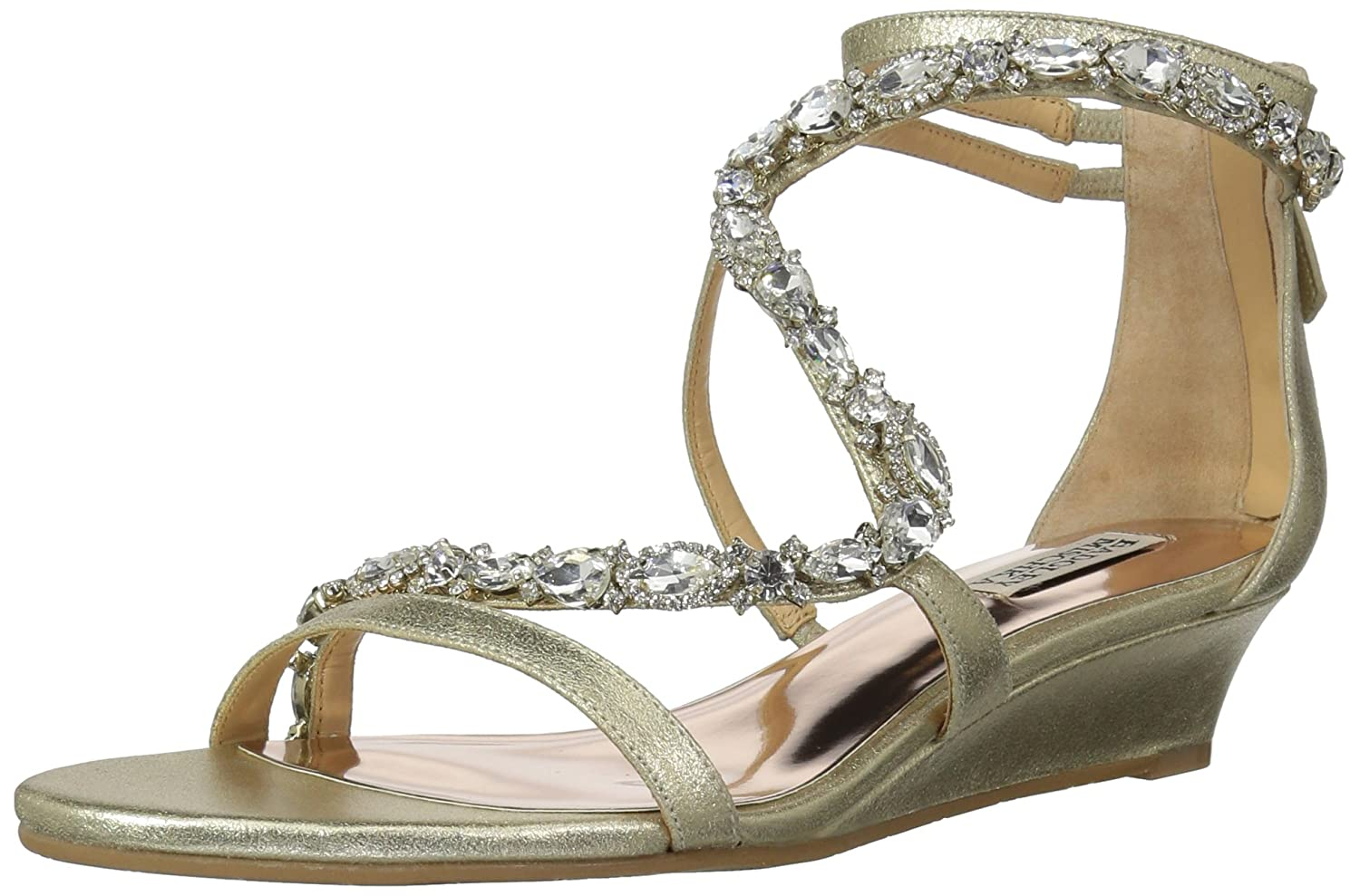 Badgley Mischka Women's Sierra Wedge Sandal MP4150