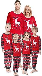 2765c1988 Amazon.com  Kehen Family Christmas Pajamas Set