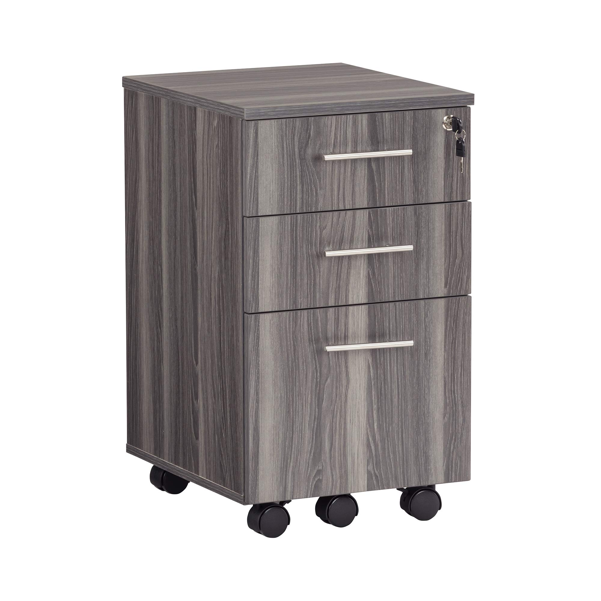Safco Medina File Pedestal, Gray Steel, Gray Steel by Safco