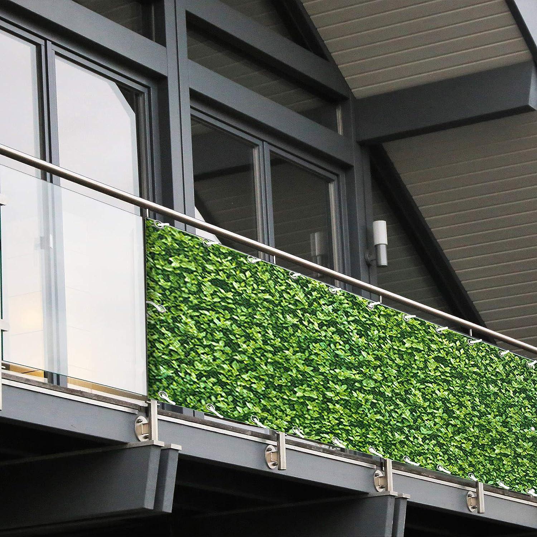Balkon Sichtschutz Pvc 90x600 Cm Extra Blickdicht