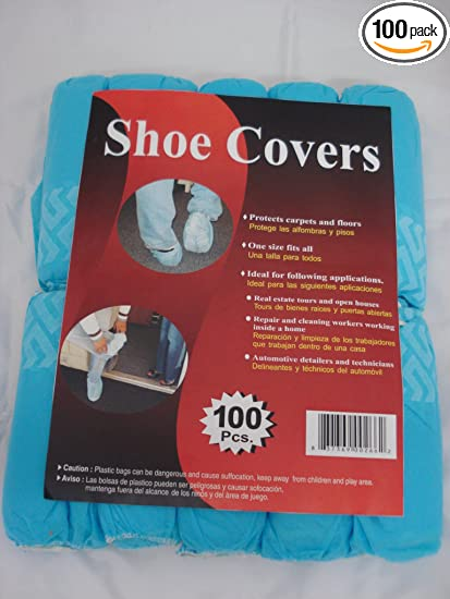 86dc934302fd Disposable Polypropylene Shoe Covers