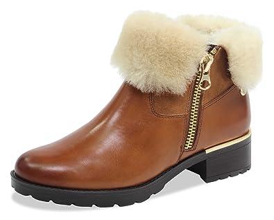 new concept e3368 f1657 CAPRICE Damen Stiefelette 26473-21,Frauen  Stiefel,Boots,Halbstiefel,Damenstiefelette,Bootie,gefüttert,Winterstiefeletten,  Decksohle,Blockabsatz 3cm