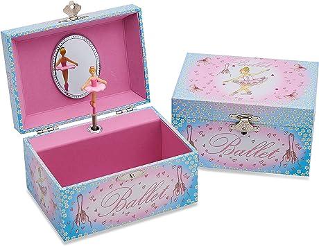 Caja de música con bailarina de Lucy Locket para niños - Joyero ...