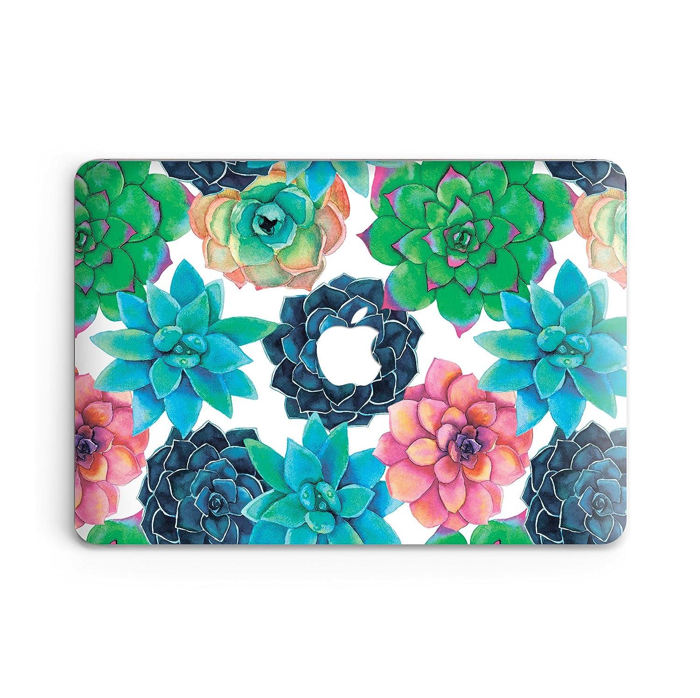 goodmoodcasesプラスチックハードケースカバーfor MacBook Pro 15.4モデルno a1286 ( 2009 – 2013 ) – 多肉植物 B06WGWGY9G