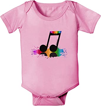 TooLoud Paint Music Note Toddler T-Shirt