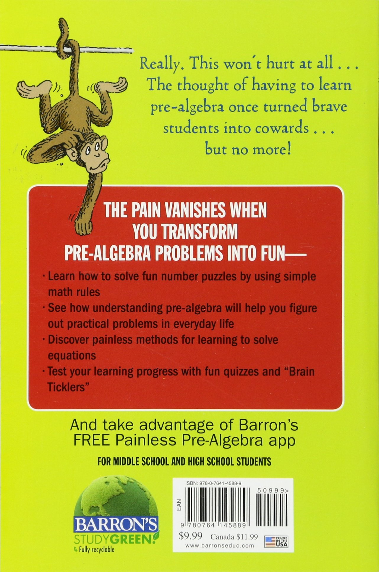 Buy Painless Pre-Algebra Book Online at Low Prices in India ...