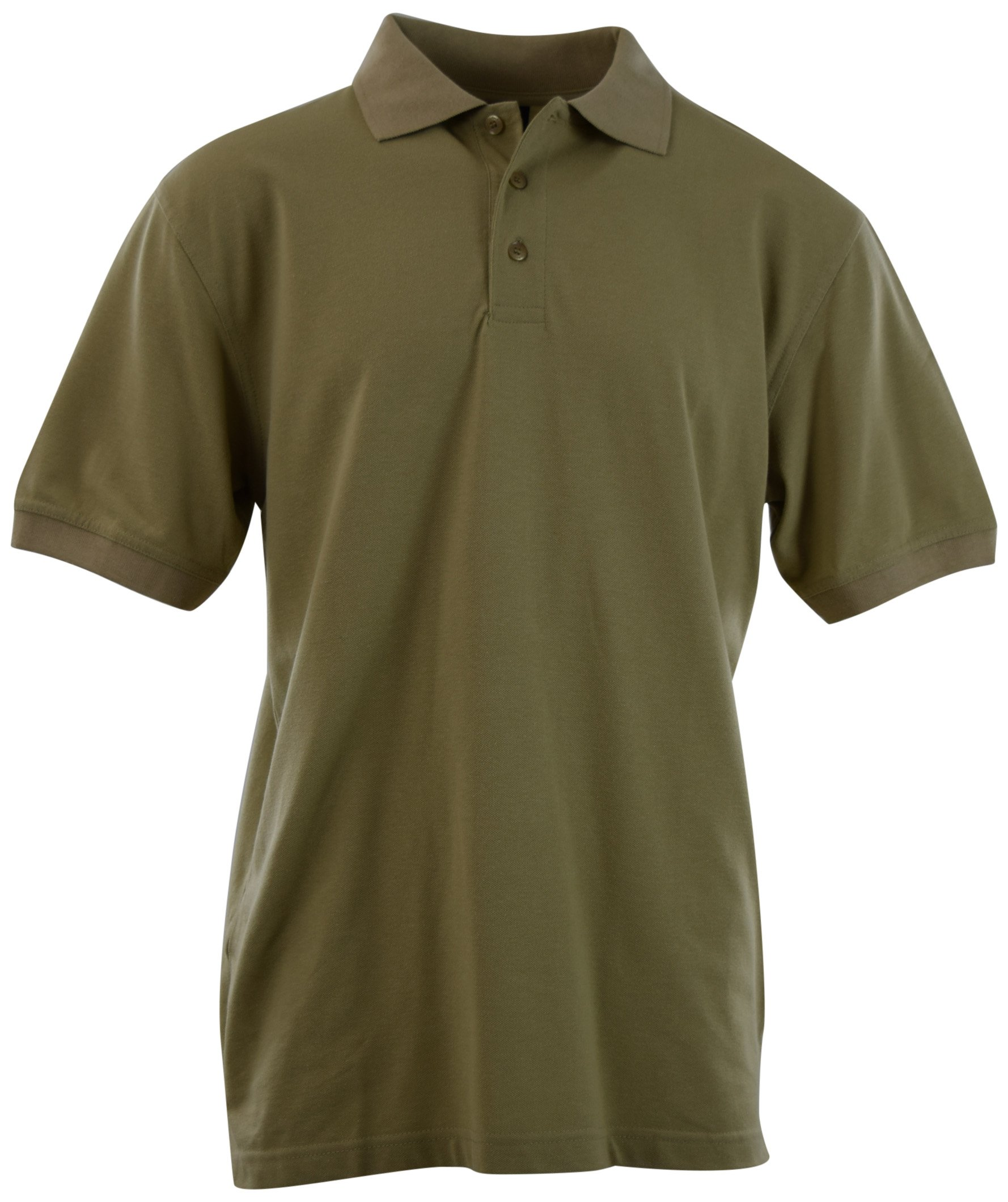 ChoiceApparel Mens Classic Cotton Pique Polo Shirts (Many Styles and Colors to Choose from) S up 5XL (XL, 1001-KHAKI)