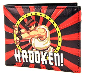 Street Fighter Wallet (Lenticular) - Capcom (Hadouken)