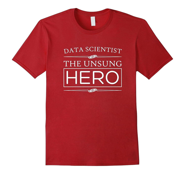 Womens Scientist Statistics T shirts Cranberry-Awarplus