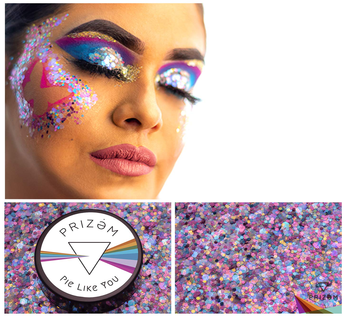 Pie Like You Biodegradable Glitter ▽15g▽ Festival Glitter, Chunky Glitter, Makeup Glitter, Face Glitter, Body Glitter, Glitter Makeup, Hair Glitter, Cosmetic Glitter, Nail Glitter