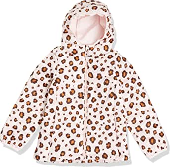Amazon Essentials Girls' Lightweight Water-Resistant Packable Hooded Puffer Jacket Niñas