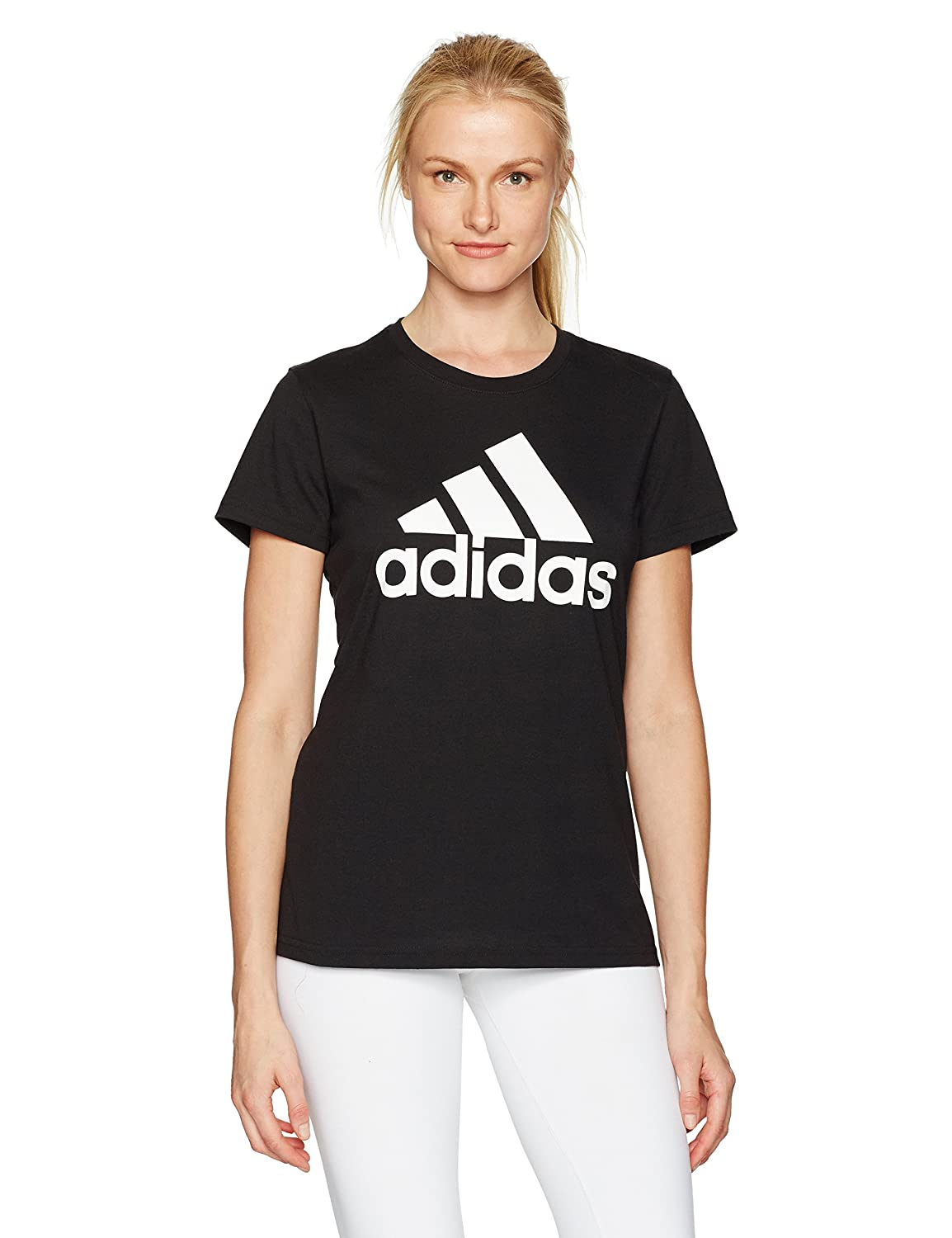 adidas Women's Badge of Sport Logo Tee