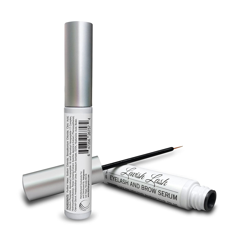 b21b4bebf6f Amazon.com: Pronexa Hairgenics Lavish Lash – Eyelash Growth Enhancer & Brow  Serum with Biotin & Natural Growth Peptides for Long, Thick Looking Lashes  and ...