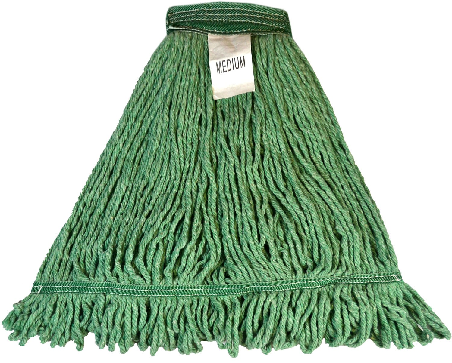 2WORK 2W04288 Socket Mop 12 oz Pack of 10 Green Twine Rough