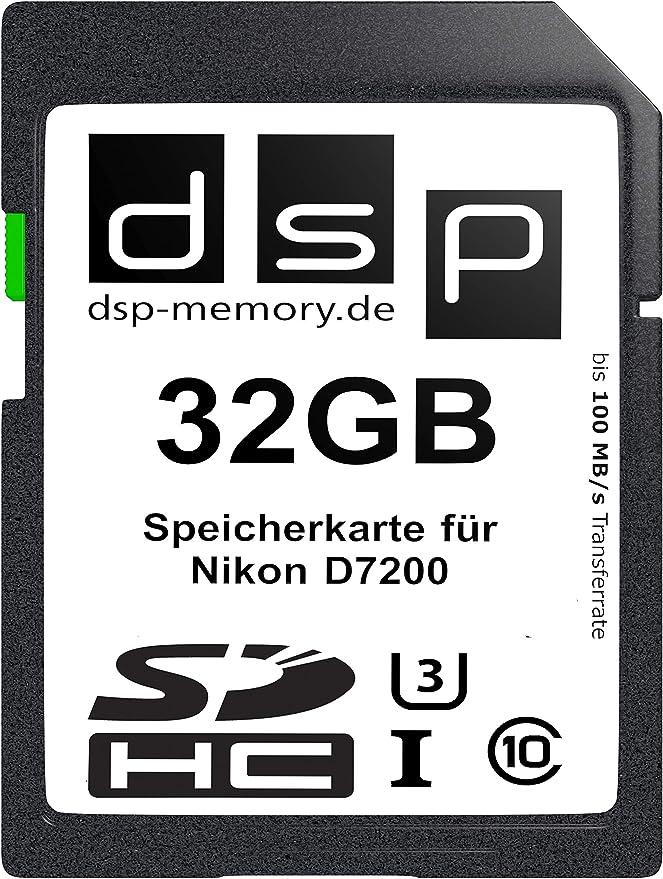 Dsp Memory 32gb Ultra Highspeed Speicherkarte Für Nikon Computer Zubehör