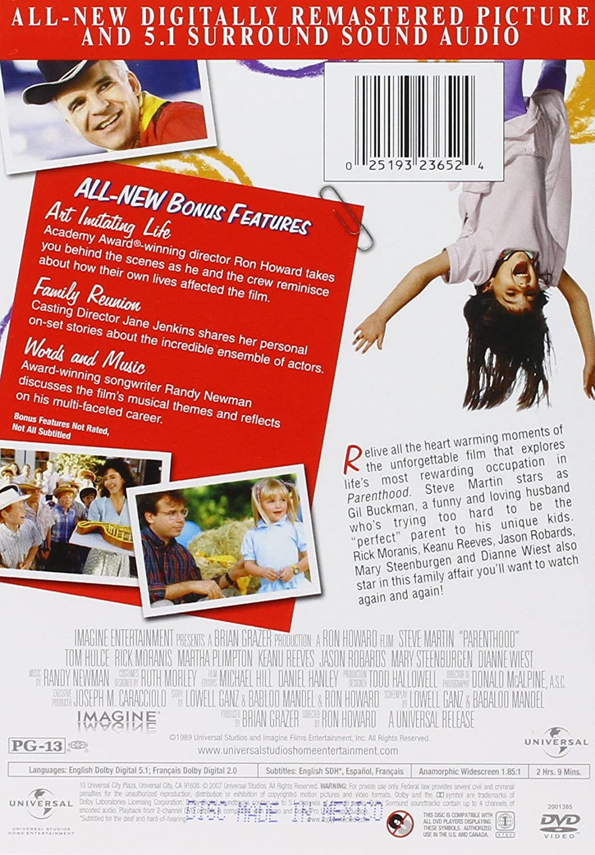Parenthood [USA] [DVD]: Amazon.es: Martin, Steve, Steenburgen ...