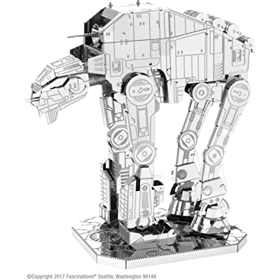 fascinations Metal Earth Star Wars The Last Jedi at-M6 Heavy Assault Walker 3D Metal Model Kit: Toys & Games