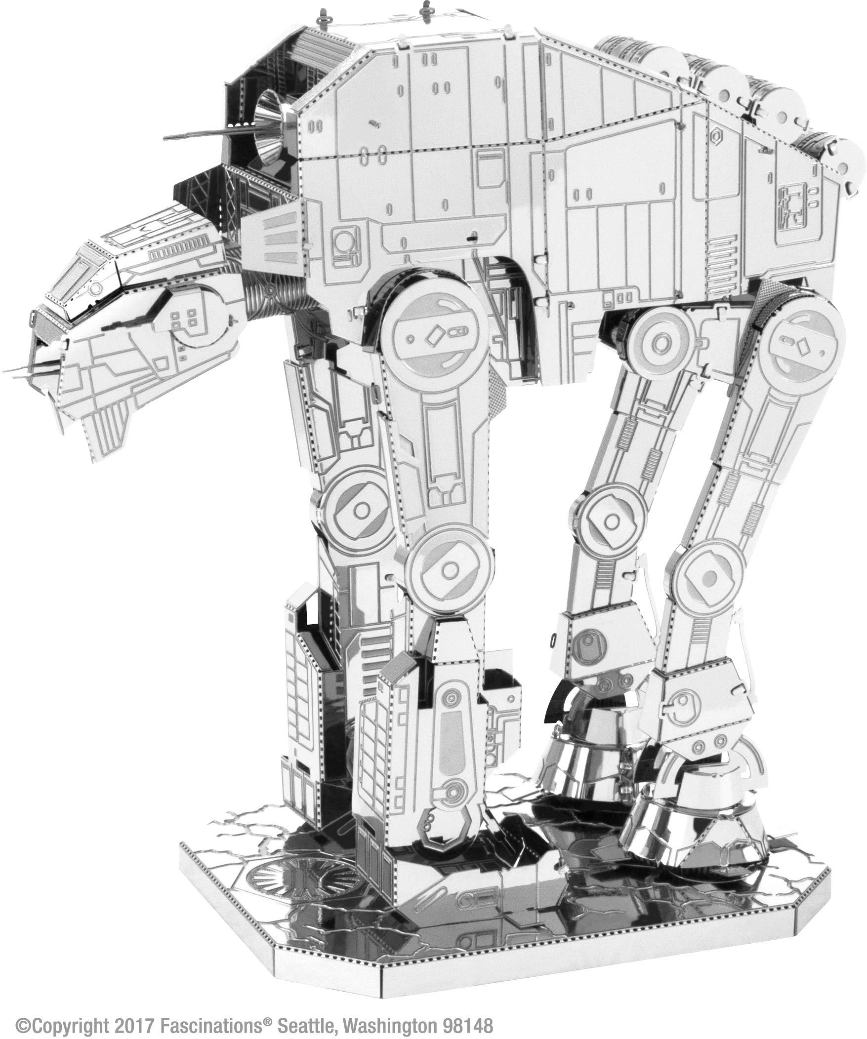 Fascinations Metal Earth Star Wars The Last Jedi at-M6 Heavy Assault Walker 3D Metal Model Kit