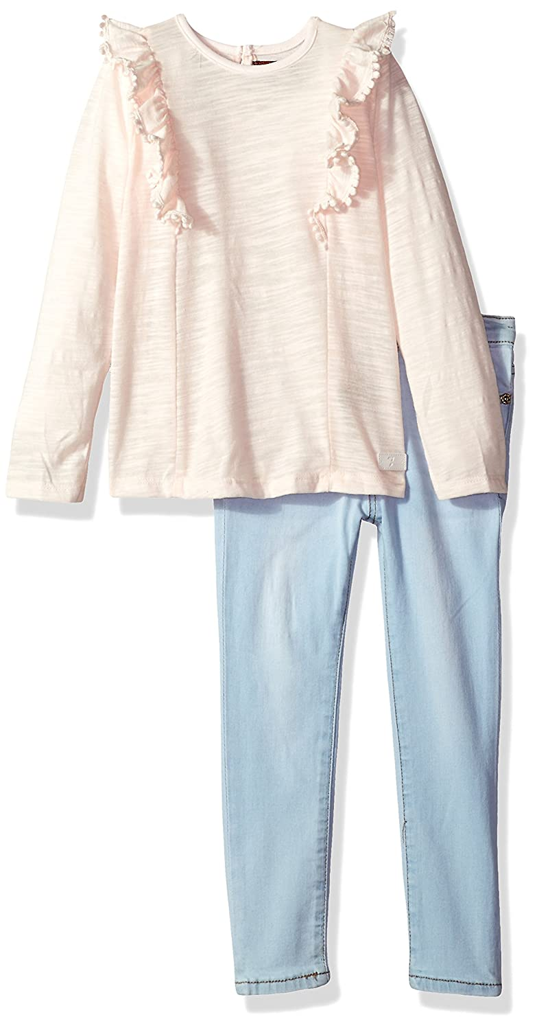 7 For All Mankind Girls Toddler Fashion Top and Pant Set More Styles Available