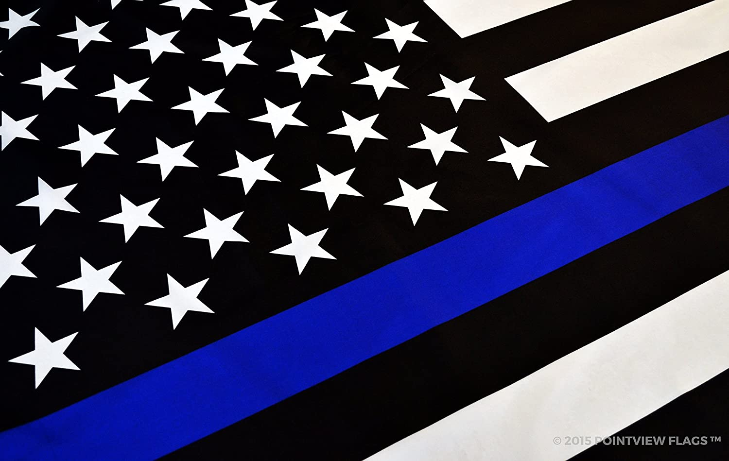 Amazon thin blue line american flag 3 x 5 ft with grommets amazon thin blue line american flag 3 x 5 ft with grommets garden outdoor biocorpaavc Image collections