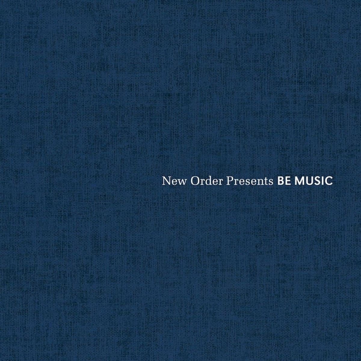 New Order Presents Music Free 100% quality warranty! shipping Various Be
