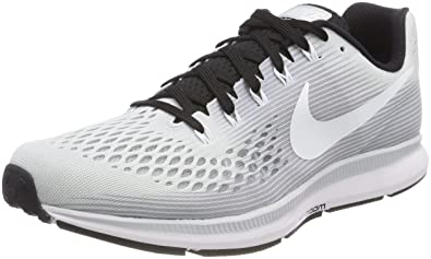 291e00389bb4 Image Unavailable. Image not available for. Color  Nike Air Zoom Pegasus 34  TB 887009 002 Pure Platinum White Black Men s Running