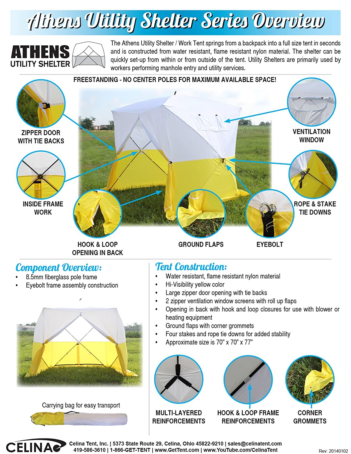 Amazon.com  Celina Tent Athens Utility Manhole Shelter  Sports u0026 Outdoors  sc 1 st  Amazon.com : manhole tents - memphite.com
